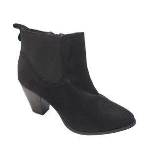 Sole Society Booties Black Boots Size 10